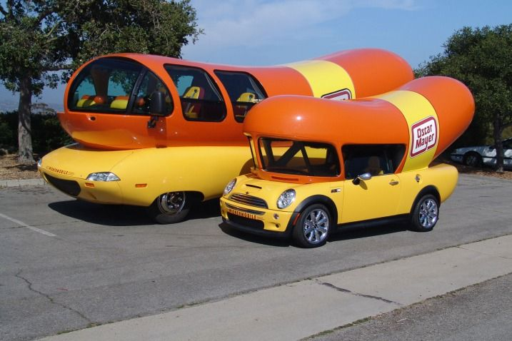 461548661784061481 likewise History Of American Food Trucks furthermore 78482 Careful Where You Stick Your Weiner Oscar Mayer Weinermobile Crashes Printthread moreover 102105116523287615 besides General body co. on oscar myer weiner