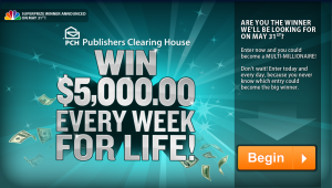 "My ""Publishers Clearing House"" Rant"