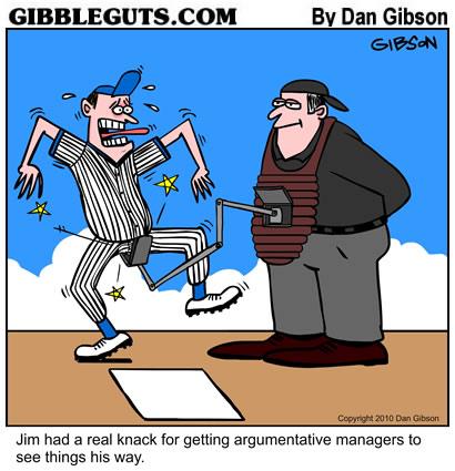 Baseball Umpire Cartoon