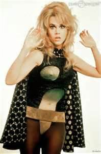 "Fonda in ""Barberella"""