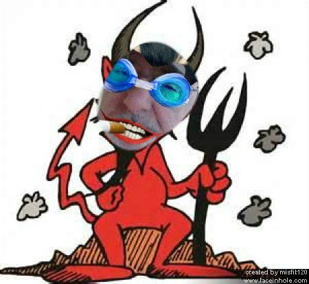misfit as devil