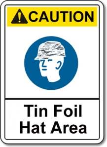 As we all know, falling tin foil can be very dangerous.