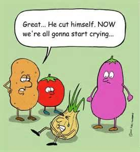 vegetables onion crying