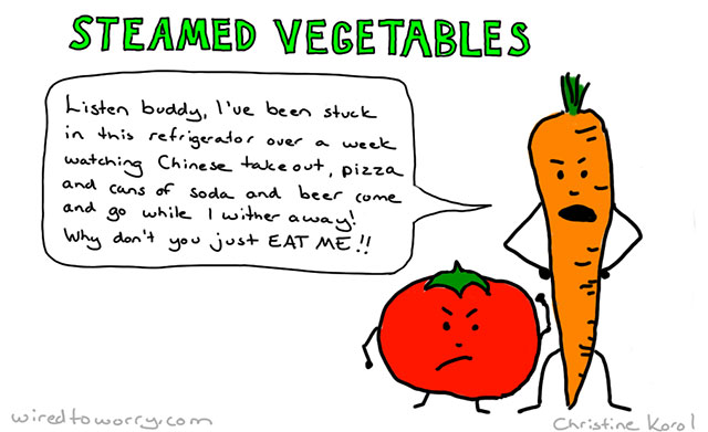 When good vegetables go bad....