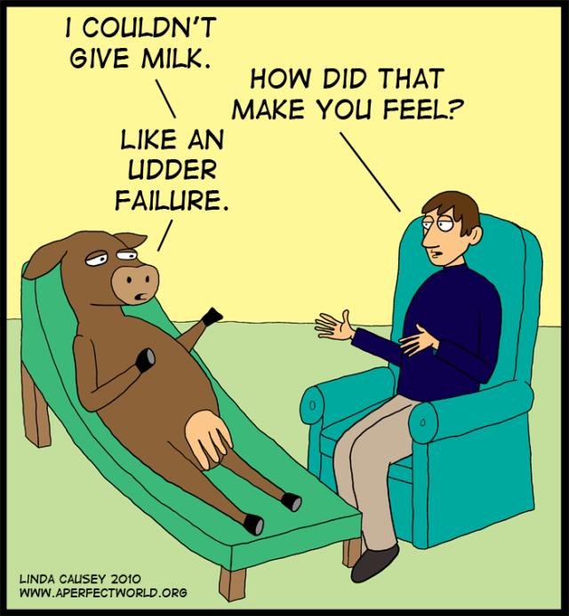 cow udder failure