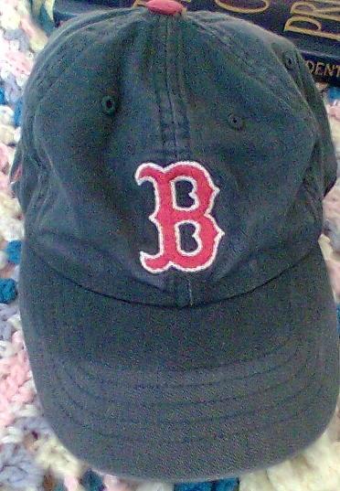 The ever popular Boston Red Sox MisfitWisdom daily attire baseball cap.