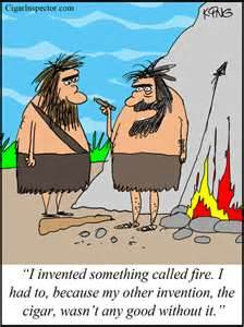 How all this invention stuff started in the first place.