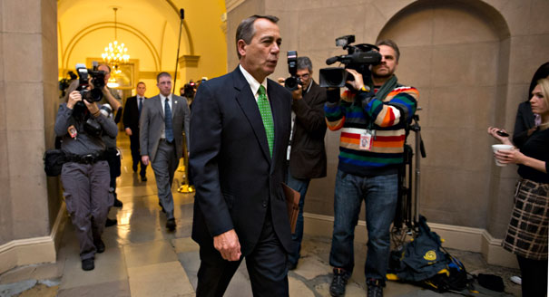 John Boehner in a daze. Remember this photo. It will make sense later on in this blog.