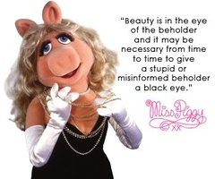 Miss Piggy comments on the beautiful rendition of the National Anthem and those that critized Beyonce for lip syncing the song.