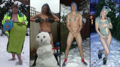 It's the naked photo of the snowman that realllly turned ME on...(pant)