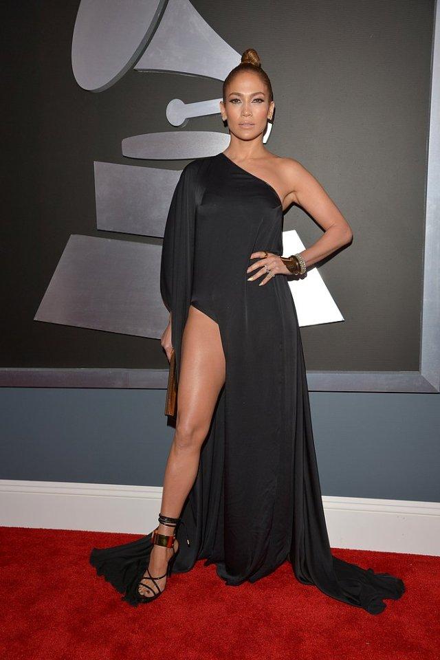 Ok...Okj...so Jennifer Lopez showed a little...er...um...a lot of leg...so what! (pant)