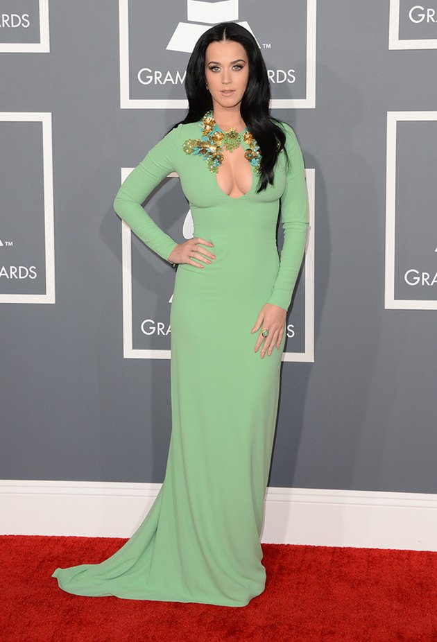 Oops...but Katy Perry actually wasn't up for a Grammy so these boobs don't count.