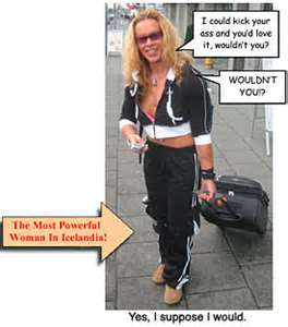 NOTE: Never date a woman from Iceland
