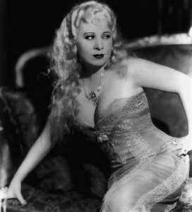 Mae West with a really good pair of floatation devices.