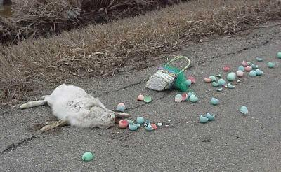 Sorry kids..um...I have some really bad news about Easter....