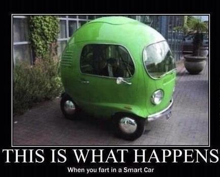 smart car fart