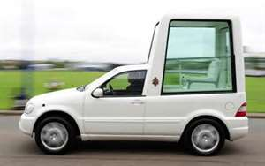 The Popemobile