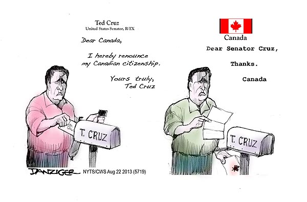 Ted Cruz Not Canadian