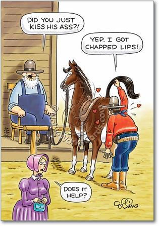 horse lips