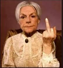 You tell em' granny.....