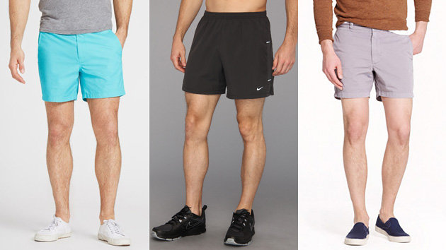 how to wear short shorts guys