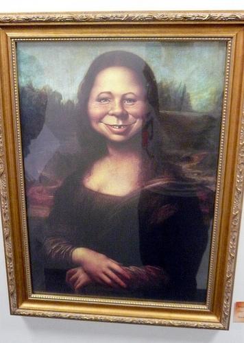 "Originally called, ""The Mona da Vinci."""
