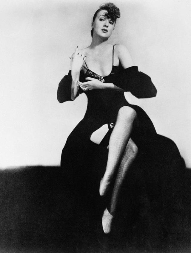 Considering most CIA spies are men, my money's on Gypsy Rose Lee