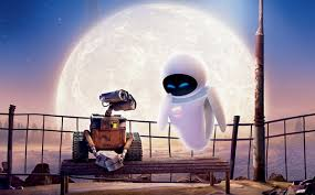 WALL E and his new girlfriend