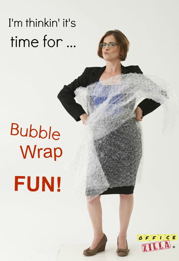 Ooooo, can I play with you...um, I meant the bubble wrap