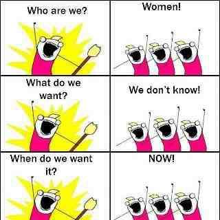 Example 1. Women,s logic