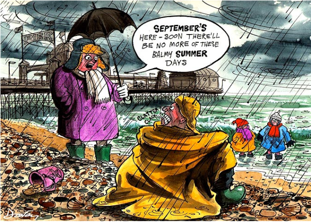 September 2014: The Summer that never was