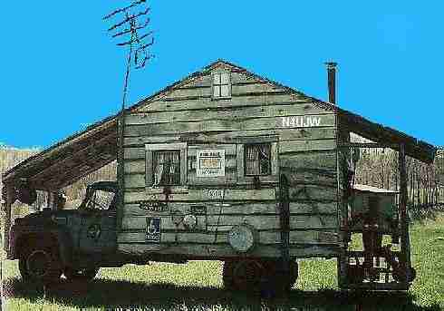 """What """"I"""" envisioned a """"love shack"""" or house to look like."""