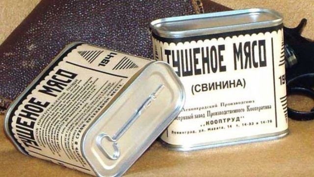 The Russians disguised their cans of SPAM