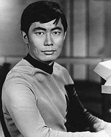 Takei as Mr. Sulu