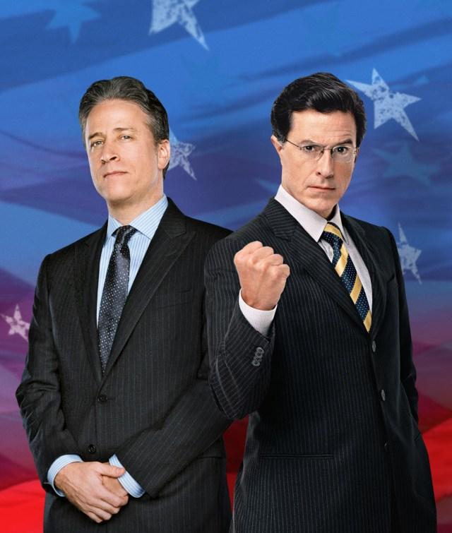 stewart & Colbert