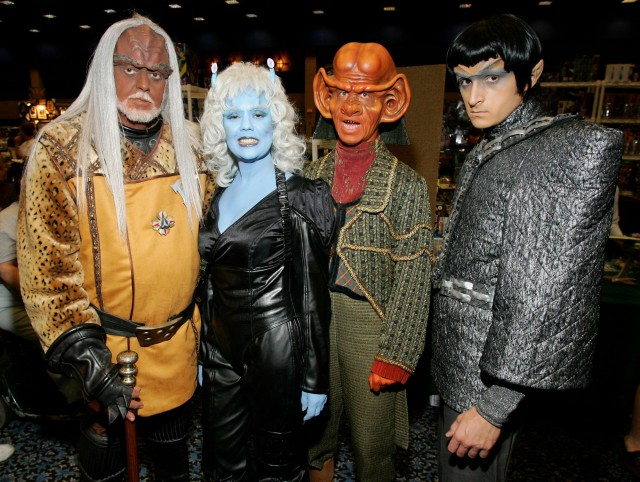 WHAT! Doesn't everybody in their 60's who loves Star Trek dress like this?