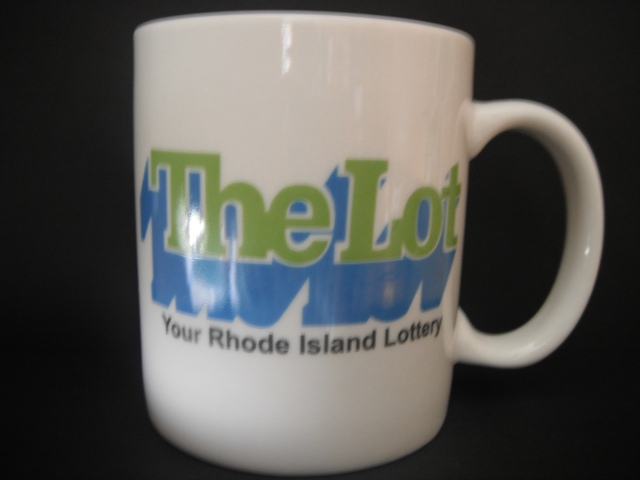 When I once hit the lottery eons ago, they gave me this cup. Guess they figured it was enough cause I haven't hit it since. Bastards.