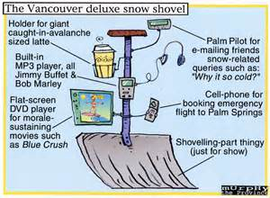 Top of the line Canadian snowblower