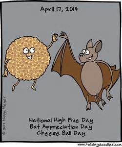 bat and chees day