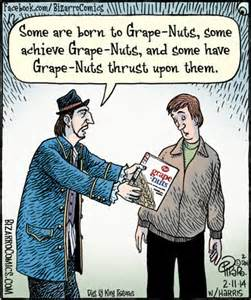 "And others have a severe case of ""grape nuts"" from not wearing protection"