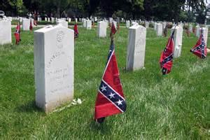 Confederate graves at Arlington