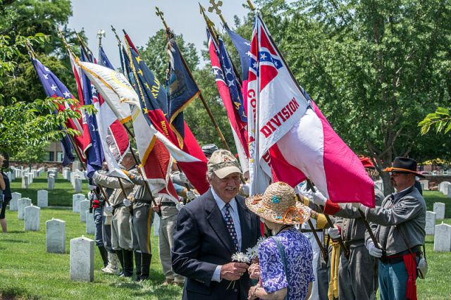 Confederate Memorial Day 2014 at Arlington national Cemetery