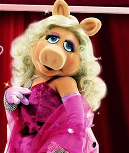 The voluptrous Miss Piggy