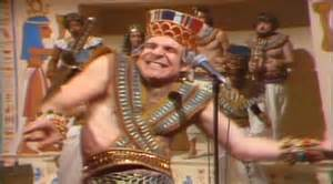 The only known actual photo of King Tut