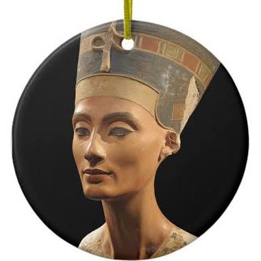 The bust of Nefertiti from the Agyptisches Museum nBerlin