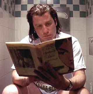 Selfie of me in the bathroom. OK OK...it's not me....but..um....kinda.....er.......HEY!.....cut me some slack here for cripes sake!