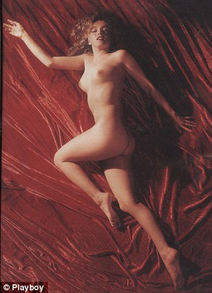 Marilyn from the 1953 issue of Playboy