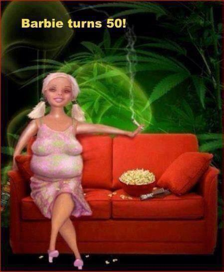 barbie tuirns 50