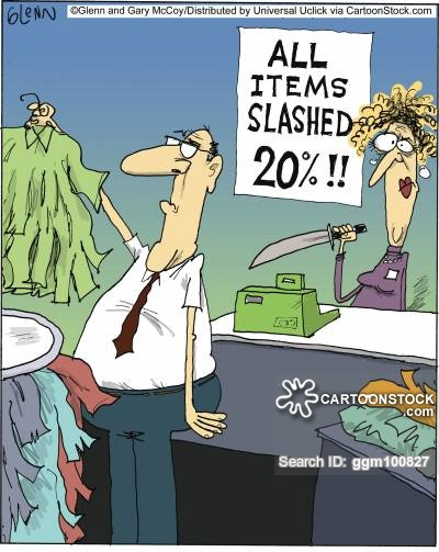 All items slashed 20%!!