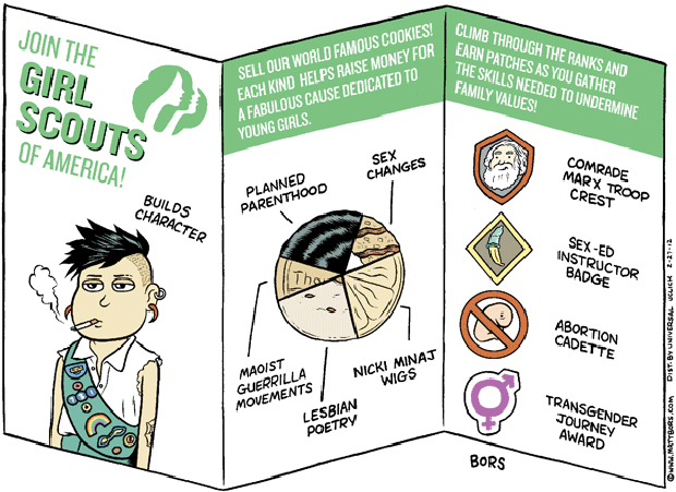 Girl Scout handbook?